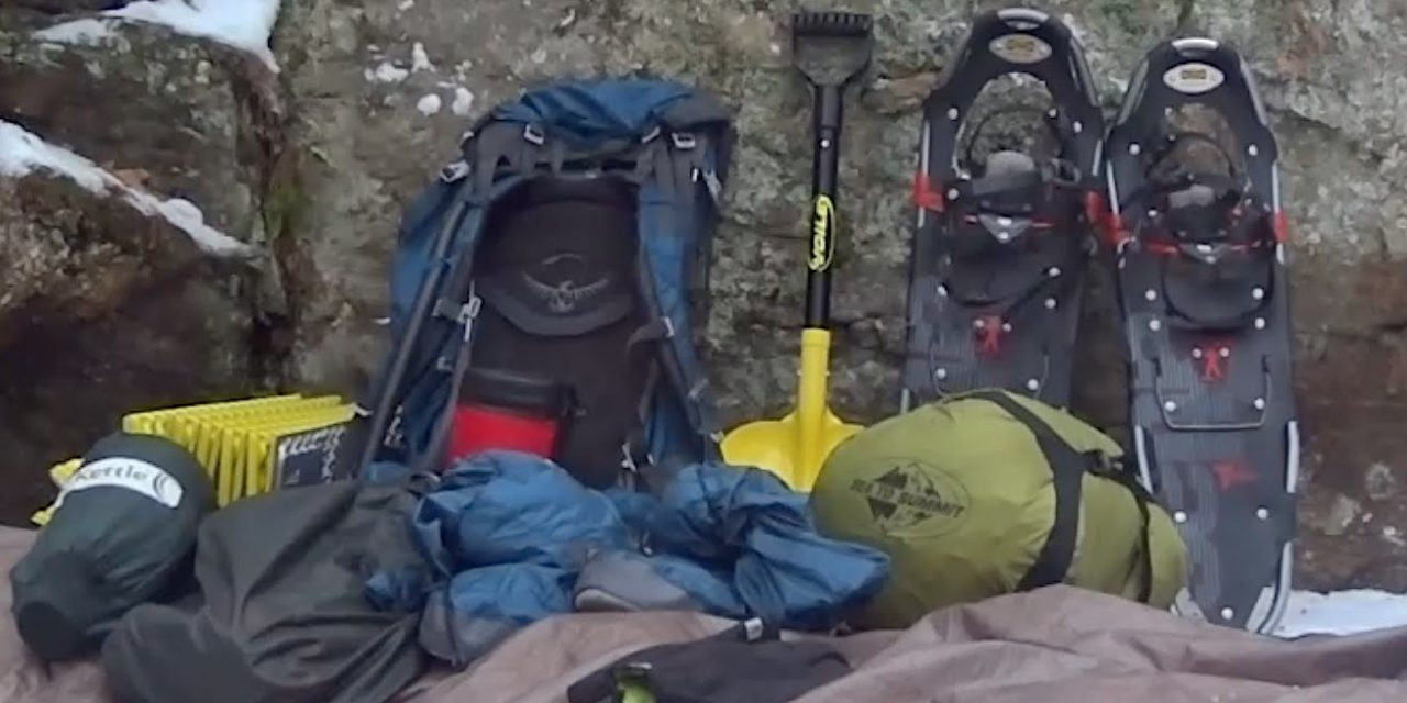 My Solo Winter Camping Gear
