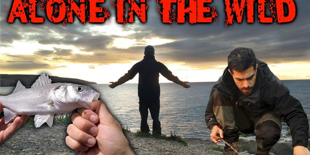 3 Days Alone in the Wilderness – Fishing, Bushcraft & Foraging for Wild Food