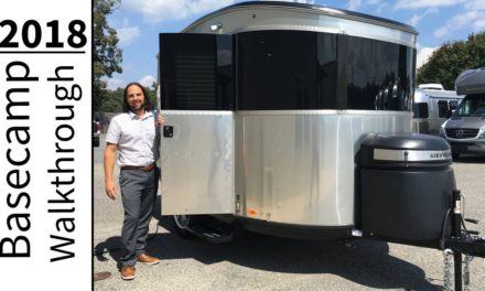 Walk Through 2018 Airstream Basecamp 16NB Light Weight Small Camping Adventure Trailer
