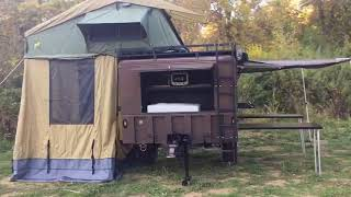 Expedition Supply M1102 Adventure Trailer by Tradesmen Truck Tops