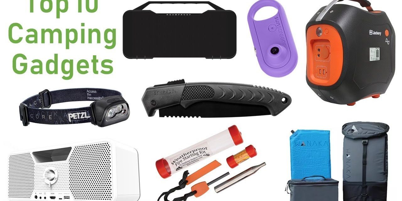 Top 10 Latest Camping Gear Inventions I Best Camping Gadgets I Part-11