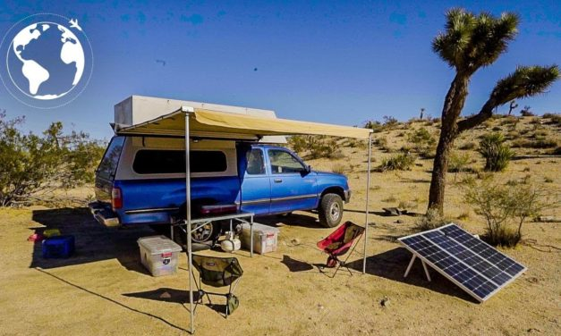 4×4 OVERLAND CAMPER Conversion