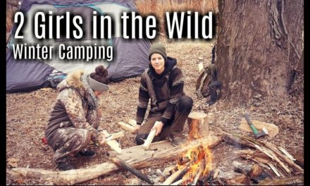 2 Girls 2 Days Winter Camping Bushcraft Trip Delaware – Pocono Mountains