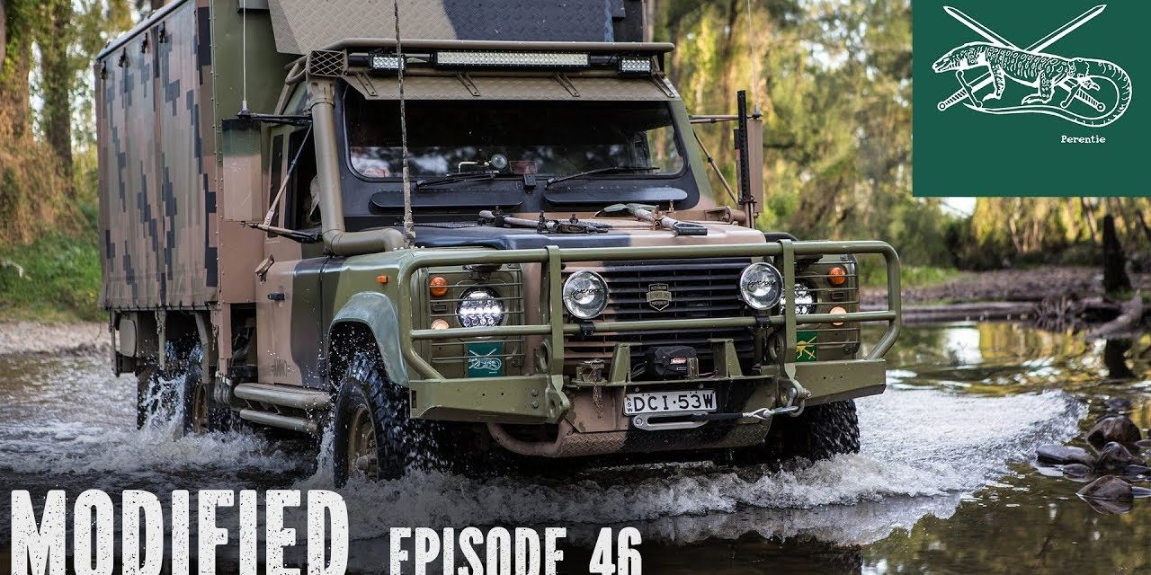6×6 Land Rover Perentie, Modified episode 46