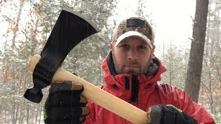 Cold Steel Rifleman Tomahawk: Budget-Friendly Survival, Bushcraft, Woods Tool