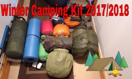 My Winter Bushcraft Camping/ Wild Camping In The Woods Scotland Uk Kit 2017/2018